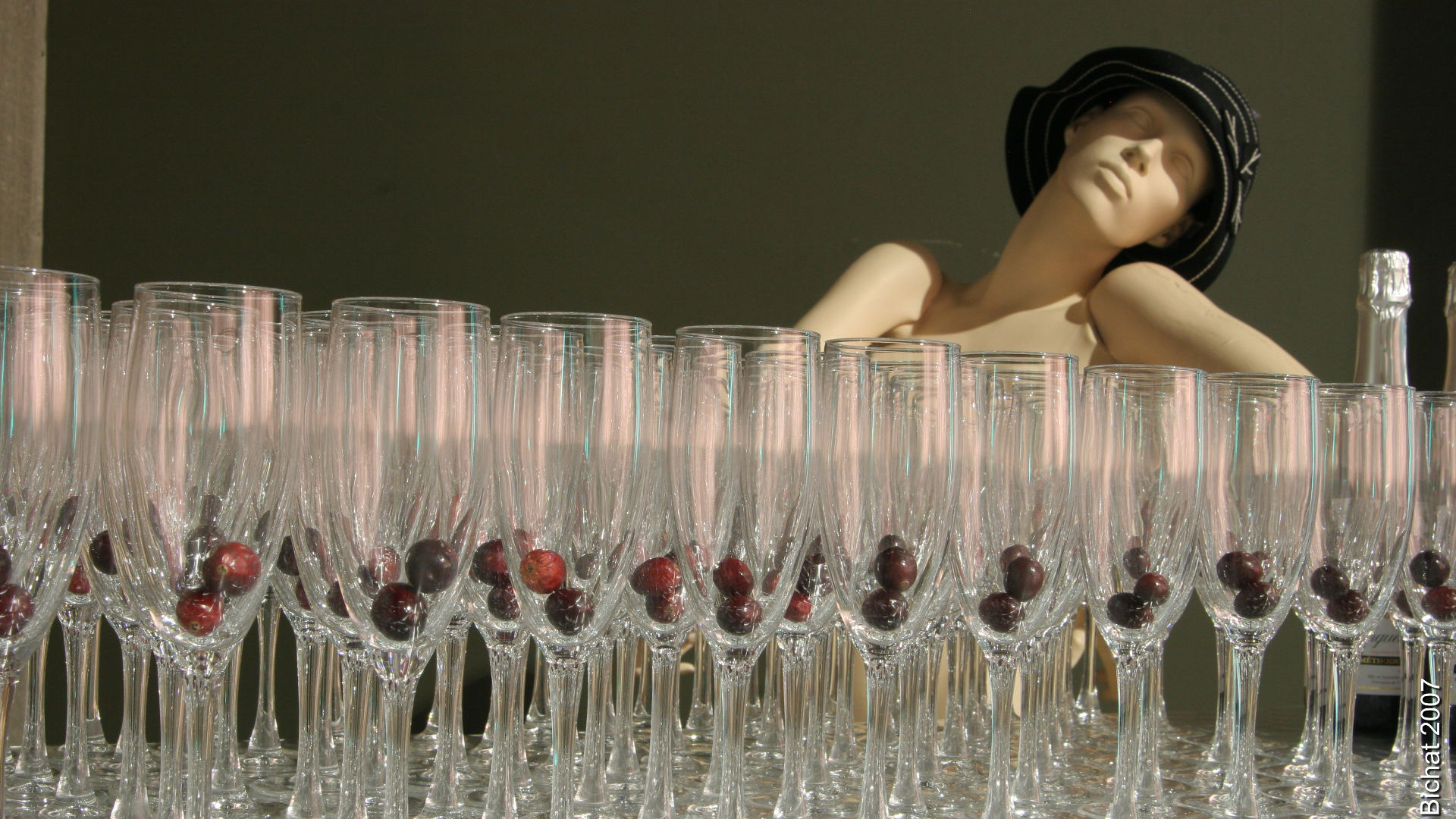 Coupes à vin expérientiel